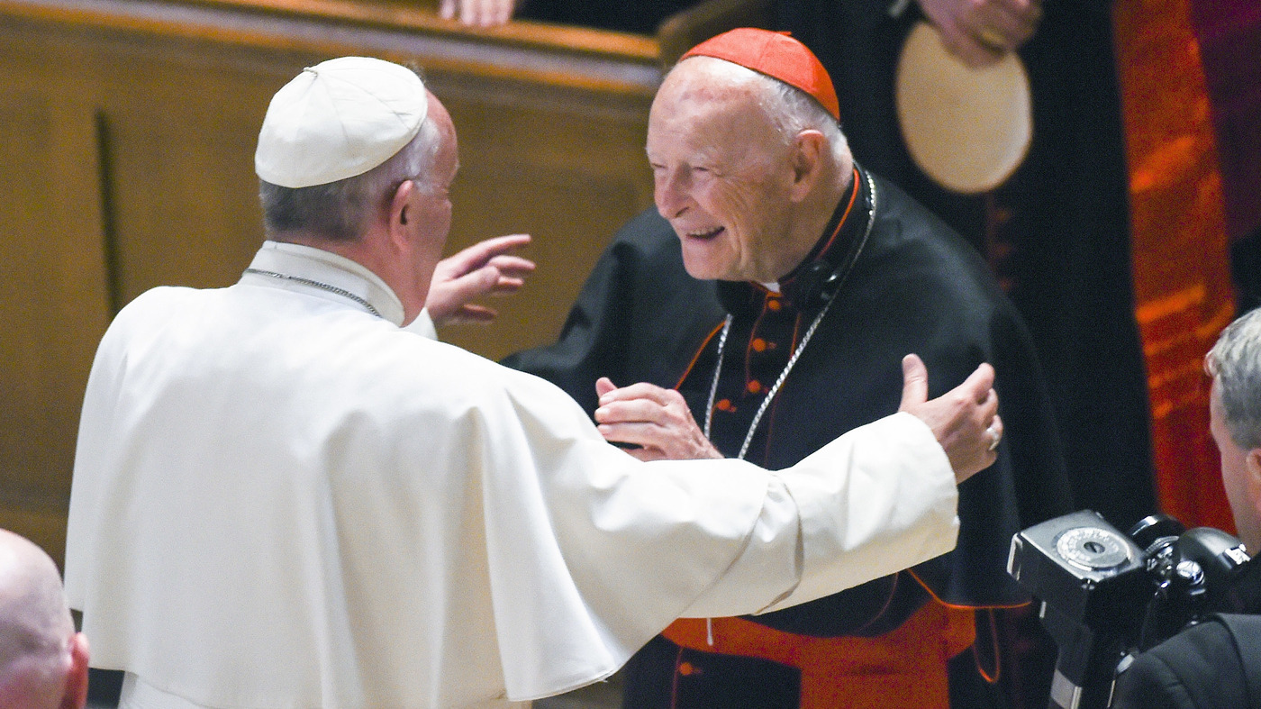 Cardinal Theodore McCarrick Resigns Amid Sexual Abuse Allegations
