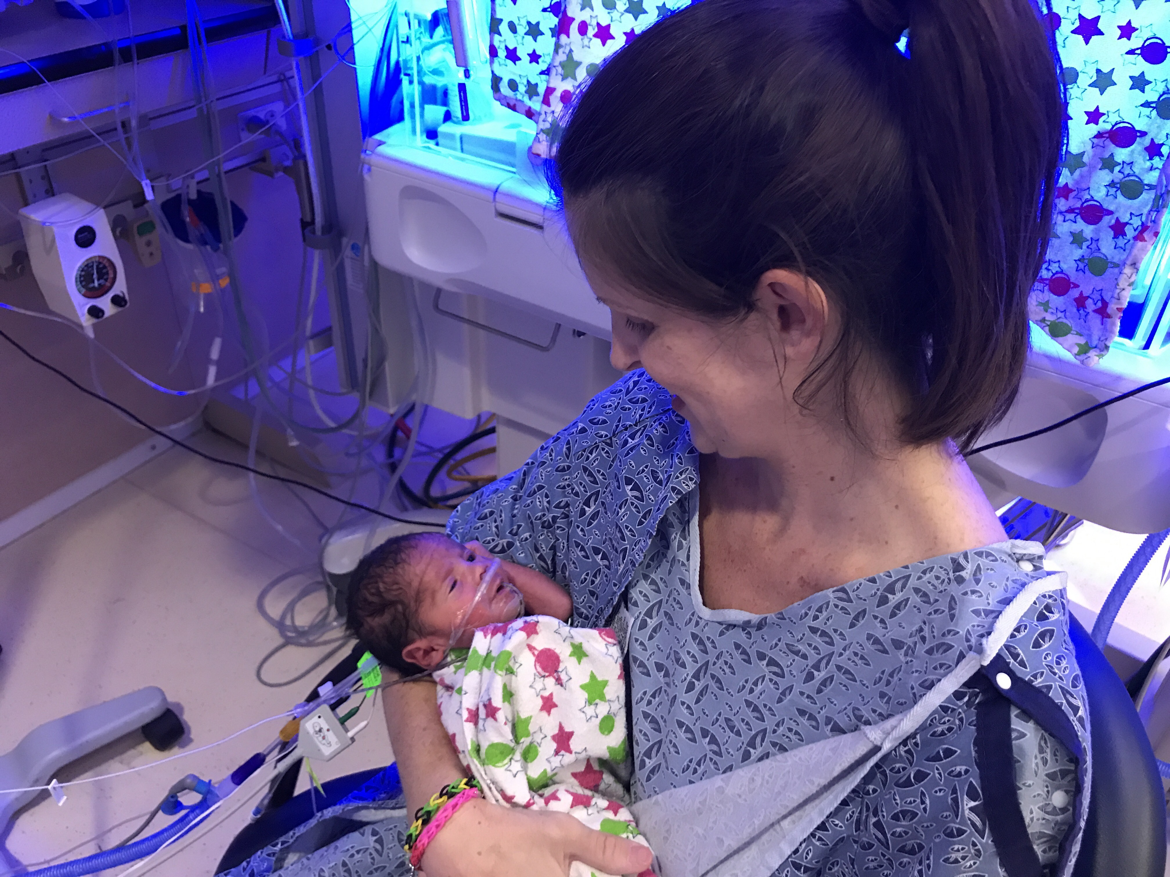 Cayti Kane was diagnosed with placenta accreta, a dangerous complication. But Pomona Valley Hospital Medical Center was prepared and two weeks later, Kane delivered a healthy boy via C-section.