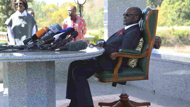 Zimbabwe's Robert Mugabe Says He Won't Support His Old Party