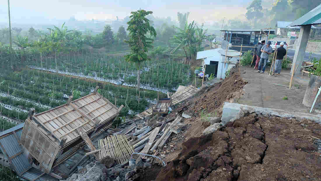 Deadly quake strikes Indonesian resort island of Lombok near Bali