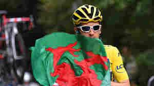 Welsh Cyclist Geraint Thomas Wins Tour De France