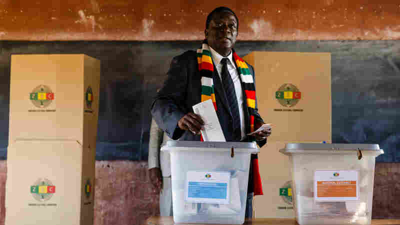 Zimbabwe's Mnangagwa Wins Presidential Election Marred By Suspicion, Bloodshed