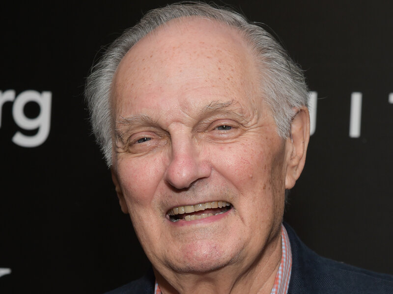 i m not angry alan alda says he s living with parkinson s npr