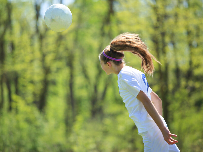Heading Soccer Balls Could Harm Women s Brains   Shots - Health News ... 2db7c0045