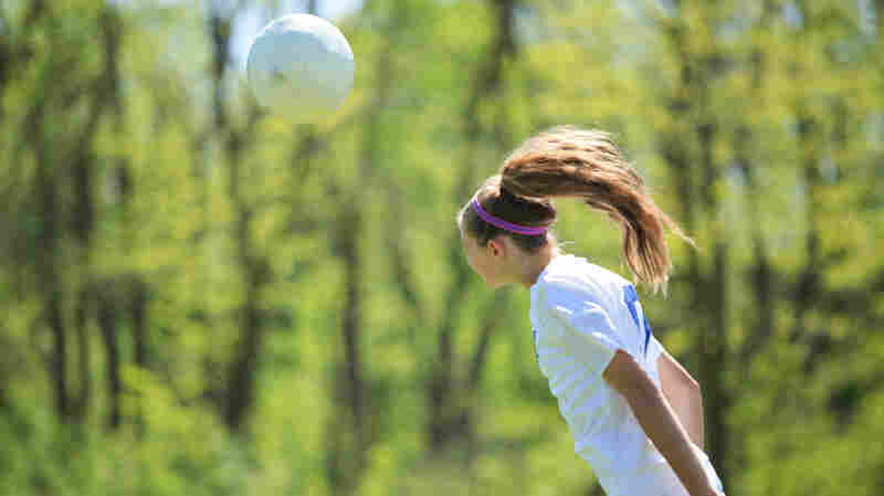 Heading May Be Riskier For Female Soccer Players Than Males