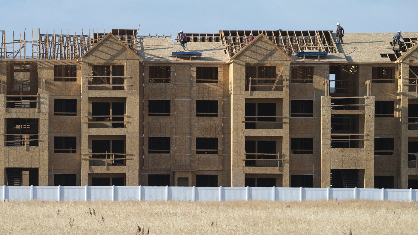 The New Housing Crisis: Shut Out Of The Market : NPR