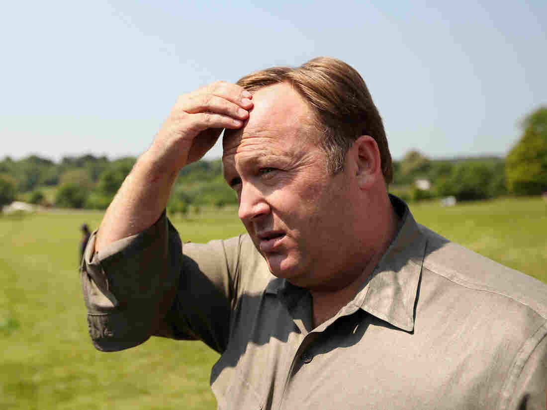 Alex Jones Wants Sandy Hook Parents to Pay His Legal Fees