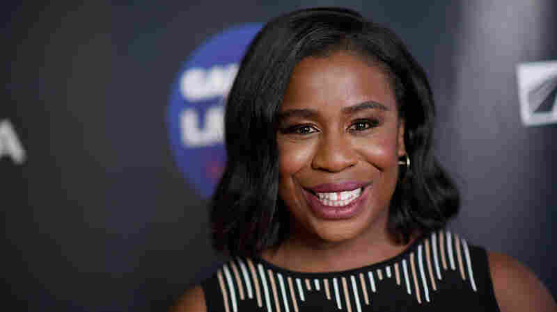 Uzo Aduba attends the 2017 Garden of Laughs Comedy Benefit on March 28, 2017 in New York City.