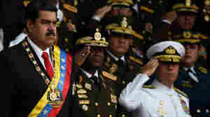Venezuelan Officials Say President Nicolás Maduro Is Unharmed After Drone 'Attack'