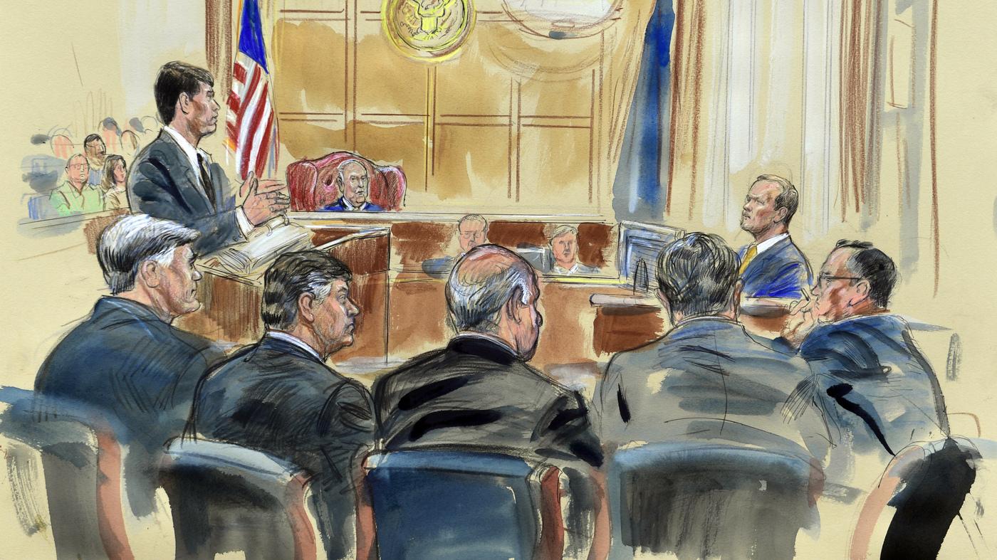 As Manafort Trial Continues, The Defense Gets Its Shot At Ex-Partner Rick Gates