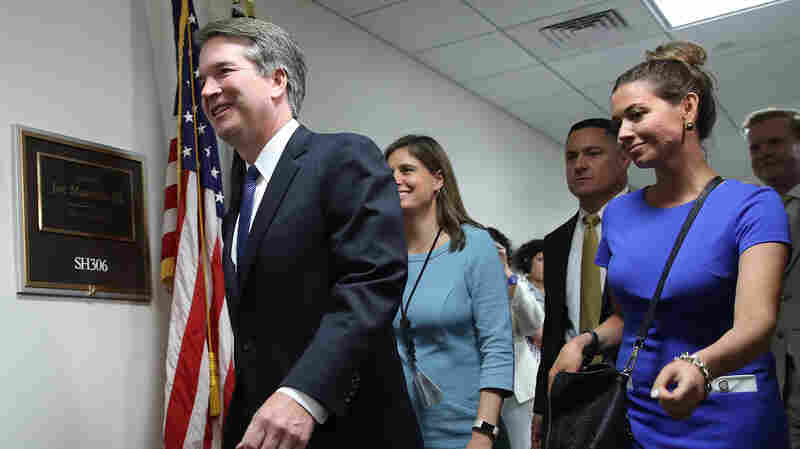 On Appeals Court, Kavanaugh Helped To Loosen Political Money Laws