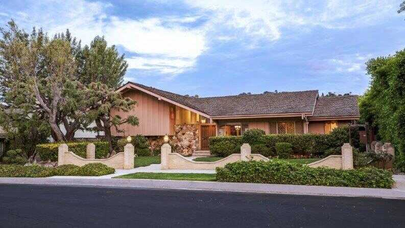 The purchase price of the home featured in opening and closing scenes of The Brady Bunch was not immediately available, but it had been listed at $1.85 million.