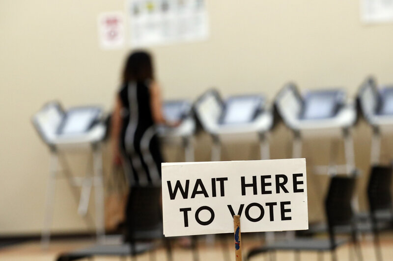 Election Security Becomes A Political Issue In Georgia