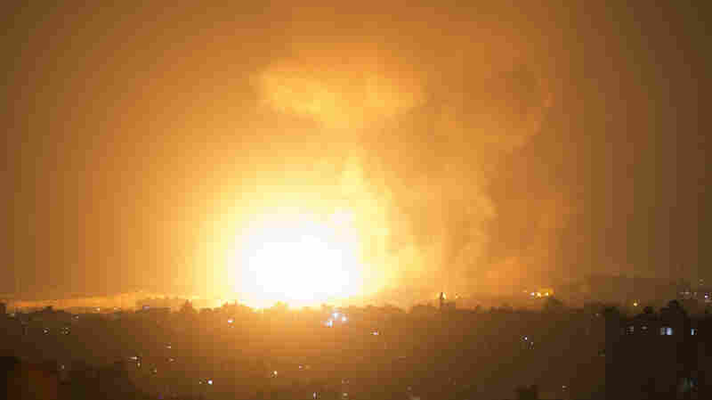Israeli Airstrikes Hit Gaza After Hamas Launches Rocket Attacks