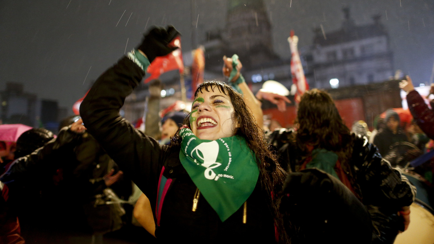 For Abortion Activists In Argentina, A Campaign Waged Online Faces A Disconnect