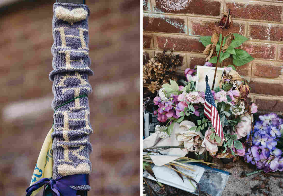In Charlottesville, Memorials And Heavy Police Presence On Rally Anniversary