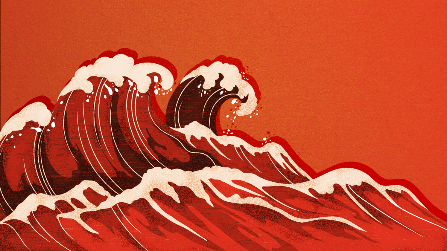 """President Trump has been pushing back on the notion of a """"blue wave,"""" and embracing the idea of a """"red wave."""" But the adaptation of """"red"""" is a popular culture shift from the Cold War."""