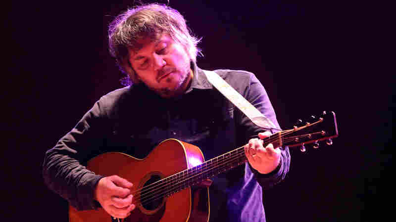 Jeff Tweedy of the band Wilco performs solo in concert at the Meyerhoff Symphony Hall on June 9, 2014, in Baltimore.