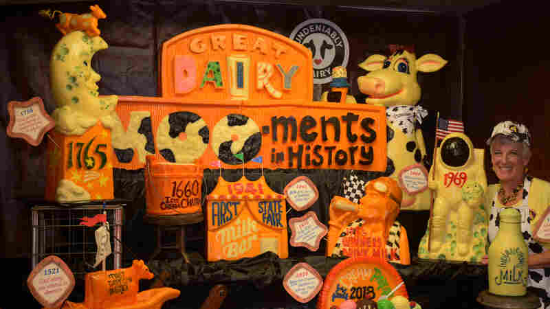 'You Never Know Where Cheese Takes You': Dairy Sculptor Savors The Moo-ments