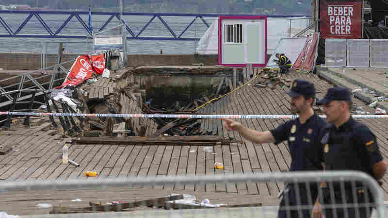 Boardwalk Collapses In Spain, Injuring More Than 330 People At Oceanside Concert