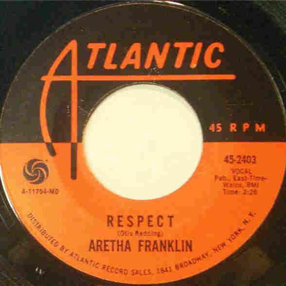 "Aretha Franklin, ""Respect"""