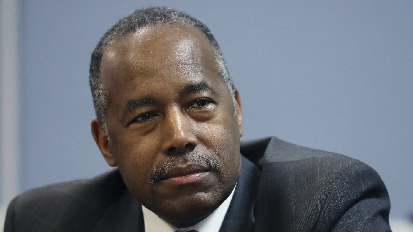 Ben Carson Moves Forward With Push To Change Fair Housing Rule