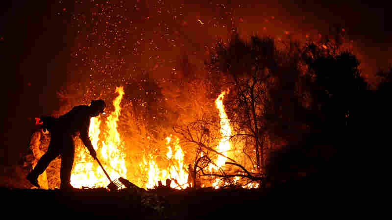 Another Firefighter Dies Battling Northern California Wildfire