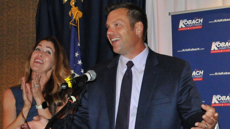 Kris Kobach Wins GOP Primary For Kansas Governor, Gov  Jeff