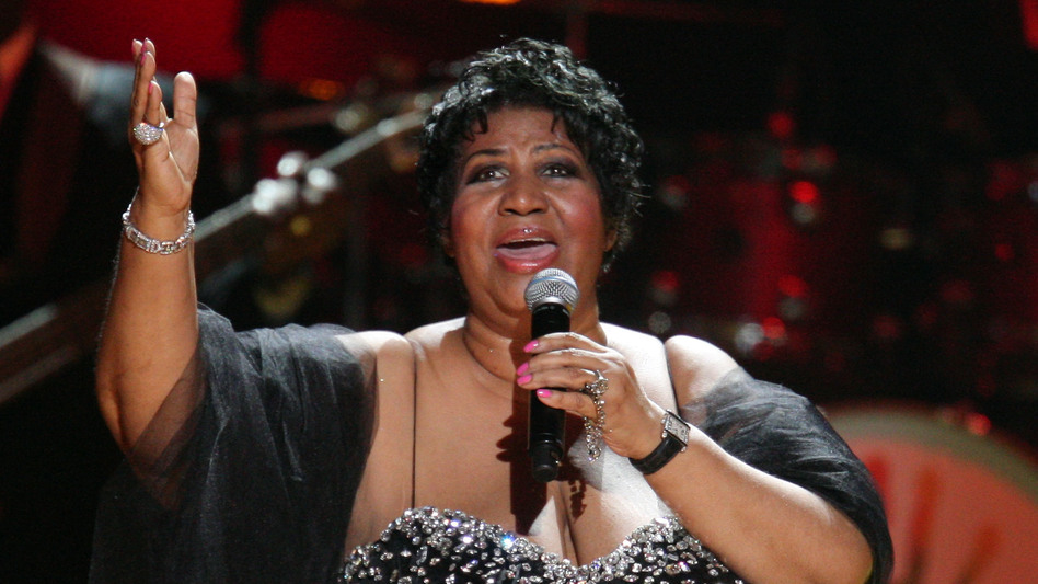 Aretha Franklin performs during the Mandela Day: A Celebration Concert July 2009 in New York City. (Michael Loccisano/Getty Images)