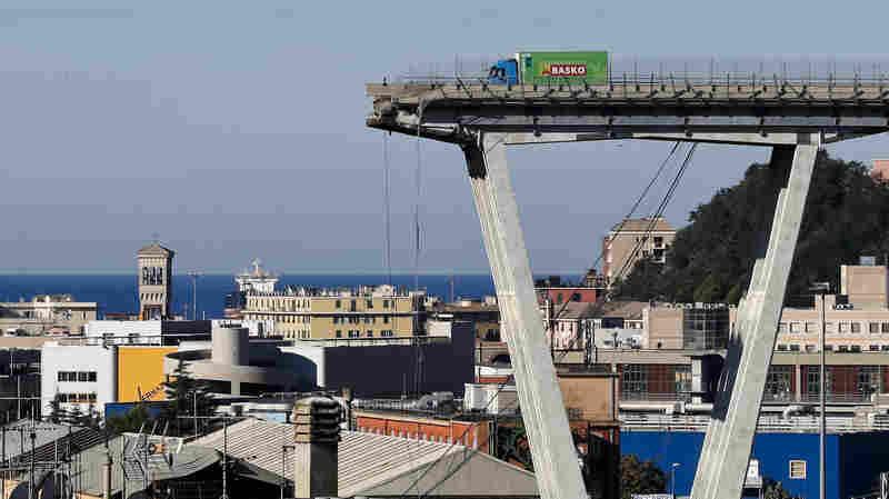 Death Toll In Genoa Bridge Collapse Rises To 39