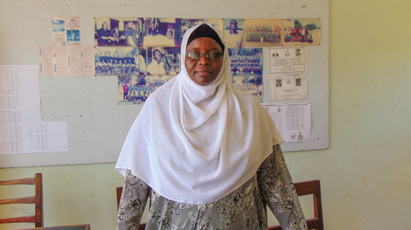 Deputy sergeant Mauwa Saleh is the coordinator of the seven Gender and Children desks in Zanzibar. These desks are staffed by police officers who have received training on how to interview victims and investigate reports of gender-based violence.