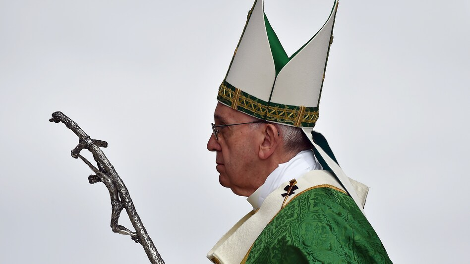 Pope Francis, who visited Philadelphia in 2015, has been challenged by the widening abuse scandal, despite his efforts to deal with it. (Vincenzo Pinto/AFP/Getty Images)