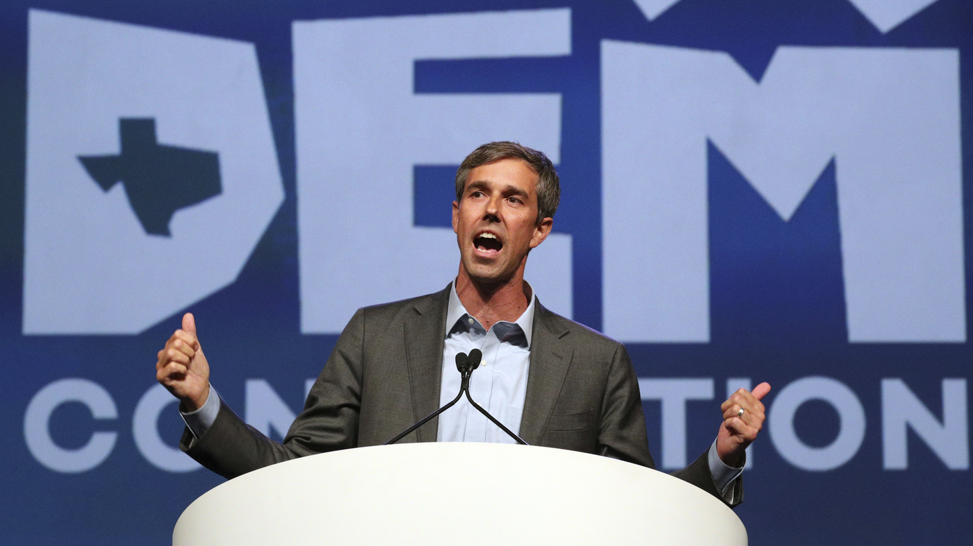 To Win Texas, Beto O'Rourke Is Running To The Left