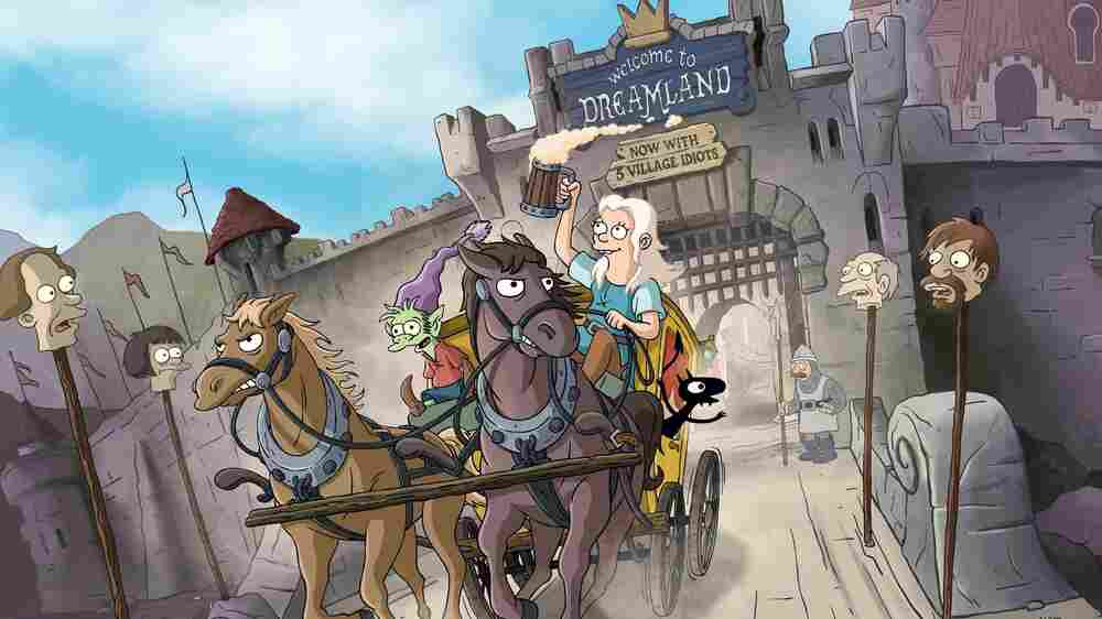A Medieval Fantasy From 'The Simpsons' Creator Throws A Wench In The Works