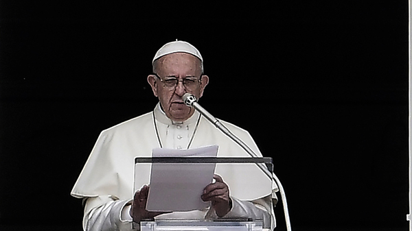 Pope Francis Expresses  Shame  and  Sorrow  Over Pennsylvania Abuse Allegations