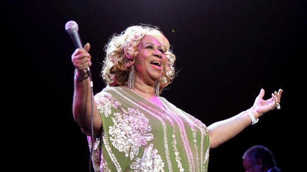 Aretha Franklin performs at Radio City Music Hall in February 2012 in New York City.