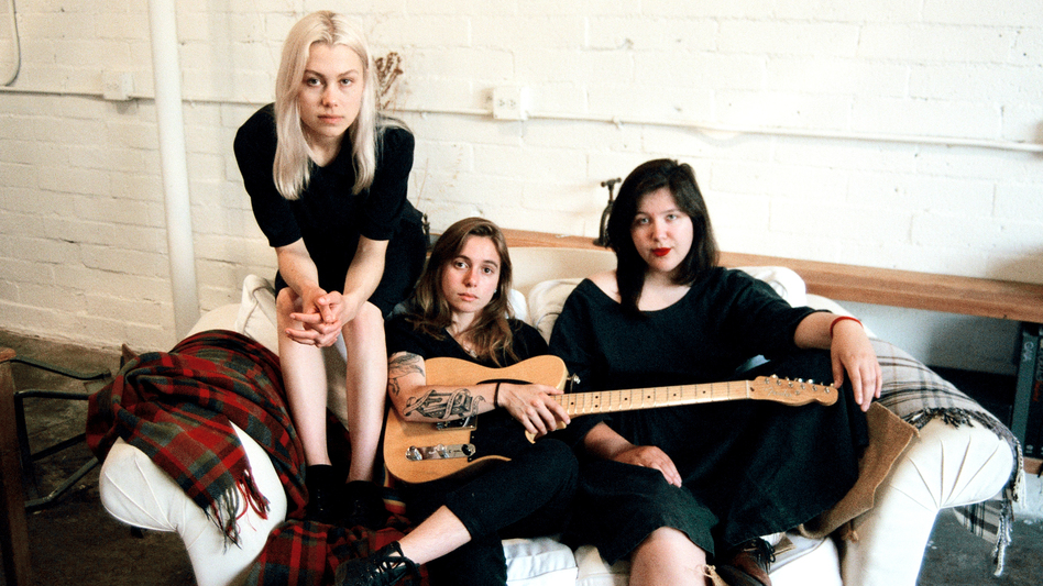 Phoebe Bridgers, Julien Baker and Lucy Dacus are boygenius. (Lera Pentelute/Courtesy of the artist)