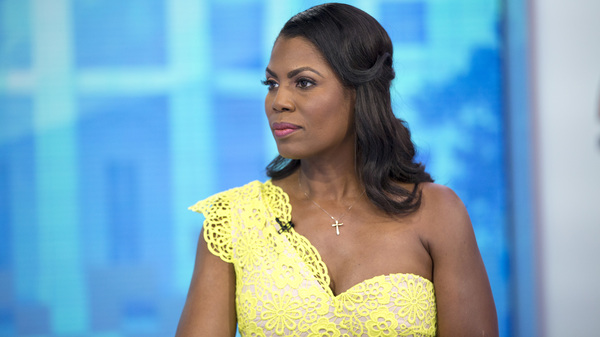 Omarosa Manigault Newman on NBC Monday. She released excerpts of a tape on Thursday that she said involved a campaign job in return for her silence.