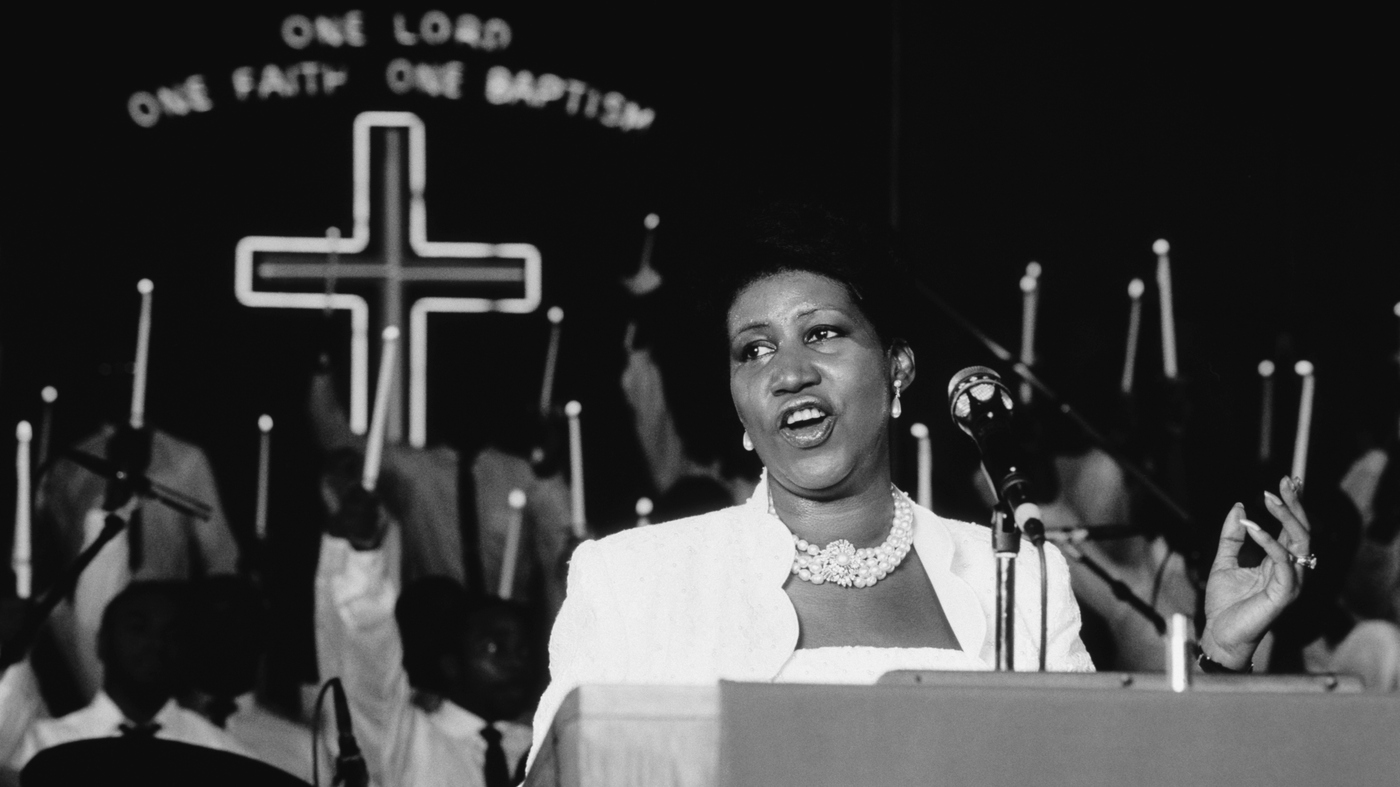 Sound Made Flesh: The Inventive Force Of Aretha's Gospel : NPR