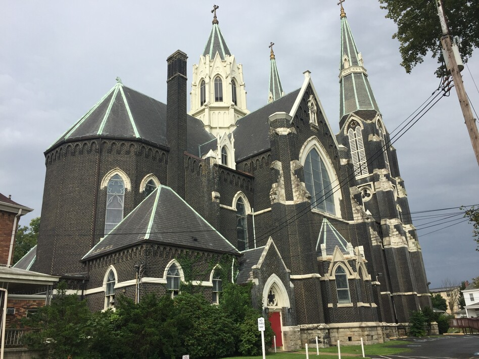 St. John of God in McKees Rocks, just outside of Pittsburgh. (Kathleen Davis/WESA)