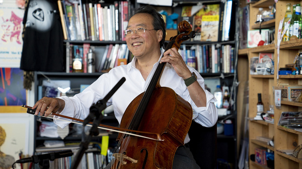 Yo-Yo Ma plays selections from Bach