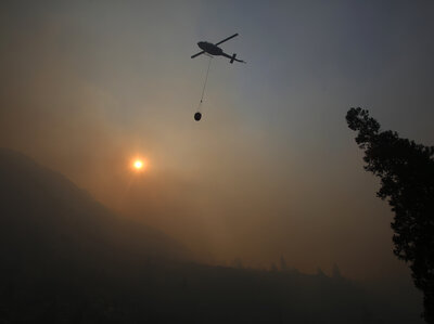 Firefighters Continue Making Headway Against California Blazes