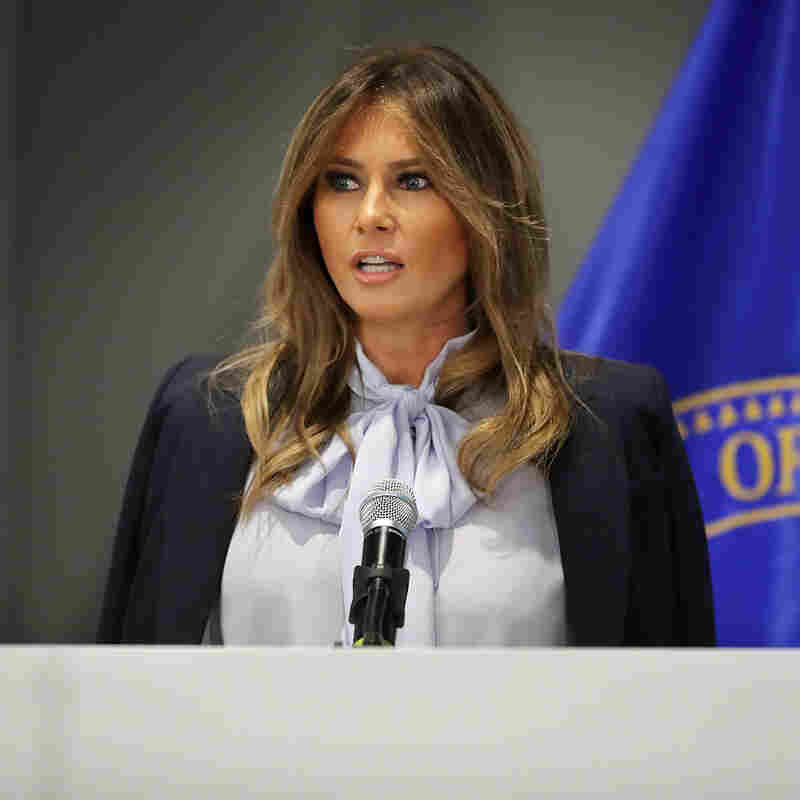 Melania Trump Slammed For Cyberbullying Summit Speech