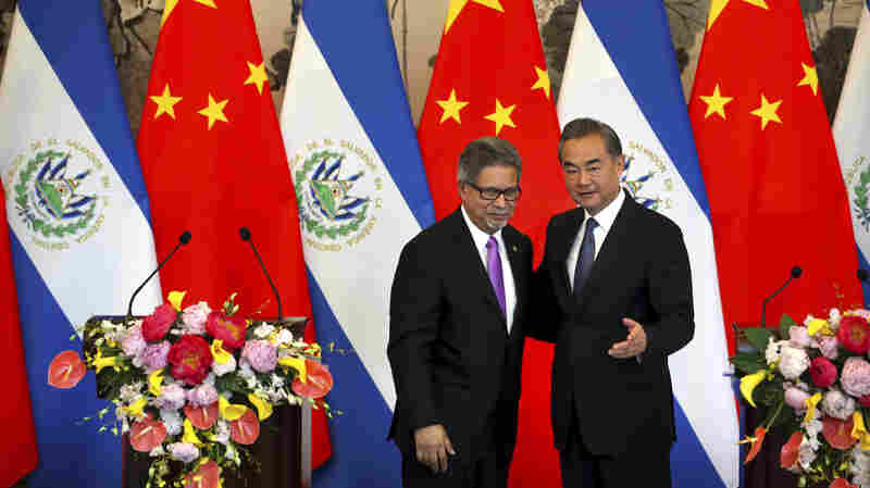 Taiwan Grows Isolated As El Salvador Recognizes Beijing