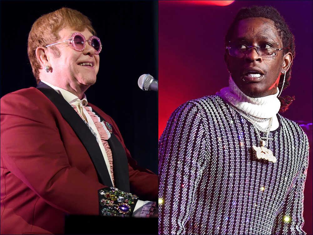 Elton John and Young Thug