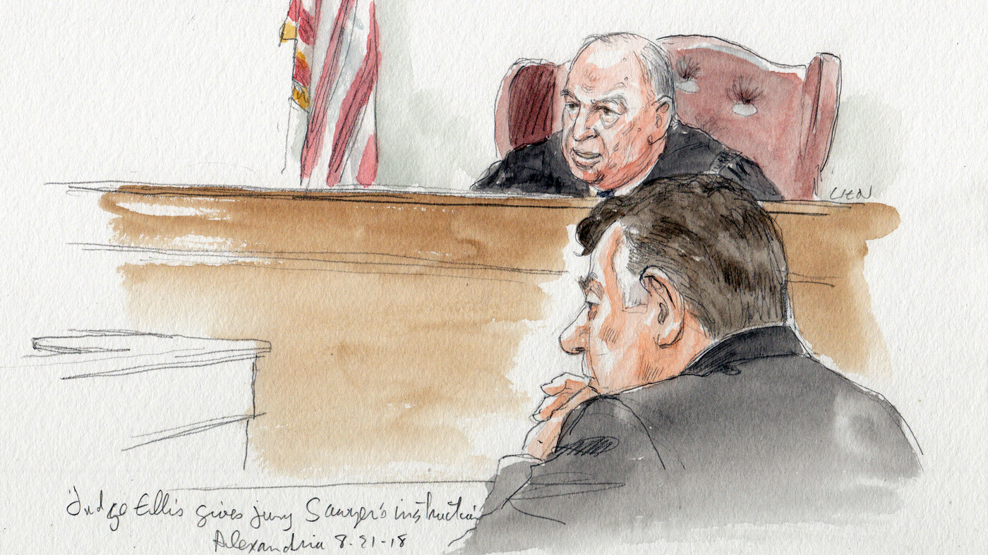 Paul Manafort Found Guilty On 8 Of 18 Counts In Federal Tax And Bank