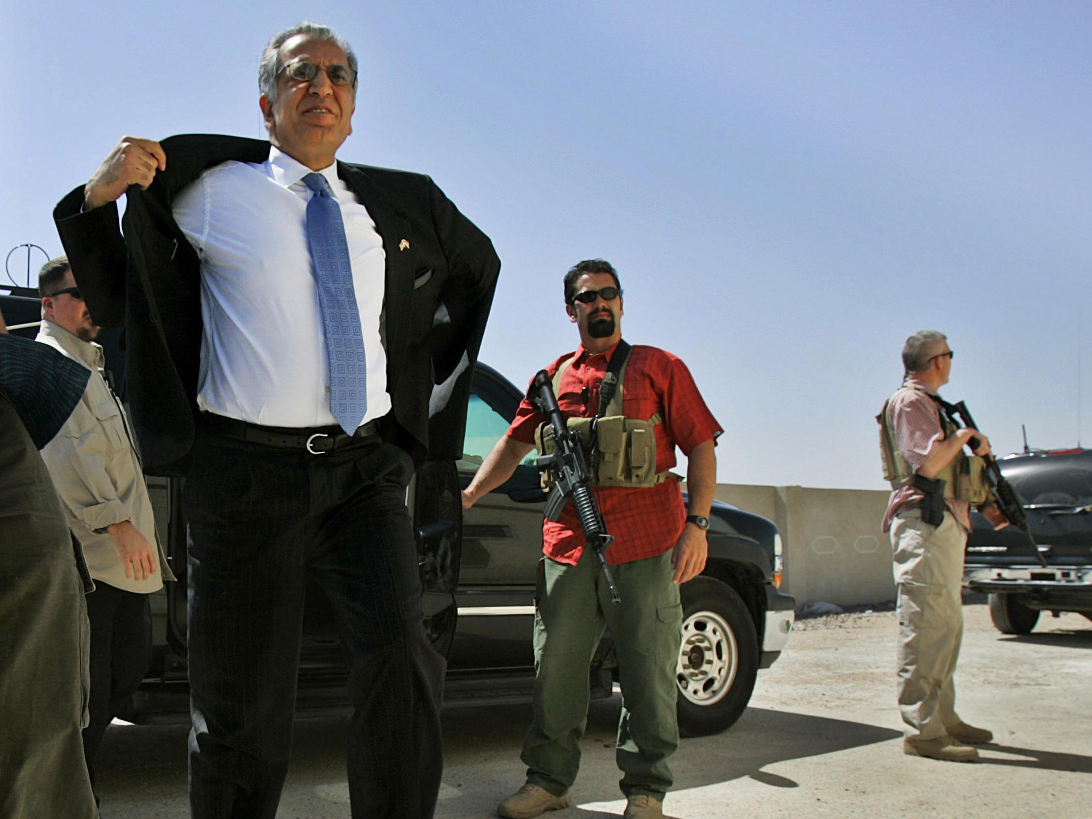 Zalmay Khalilzad Appointed As U.S. Special Adviser To Afghanistan : NPR