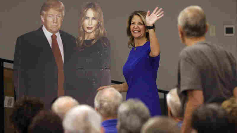 Arizona GOP Senate Candidates Embrace Trump In Primary. But What Comes Next?