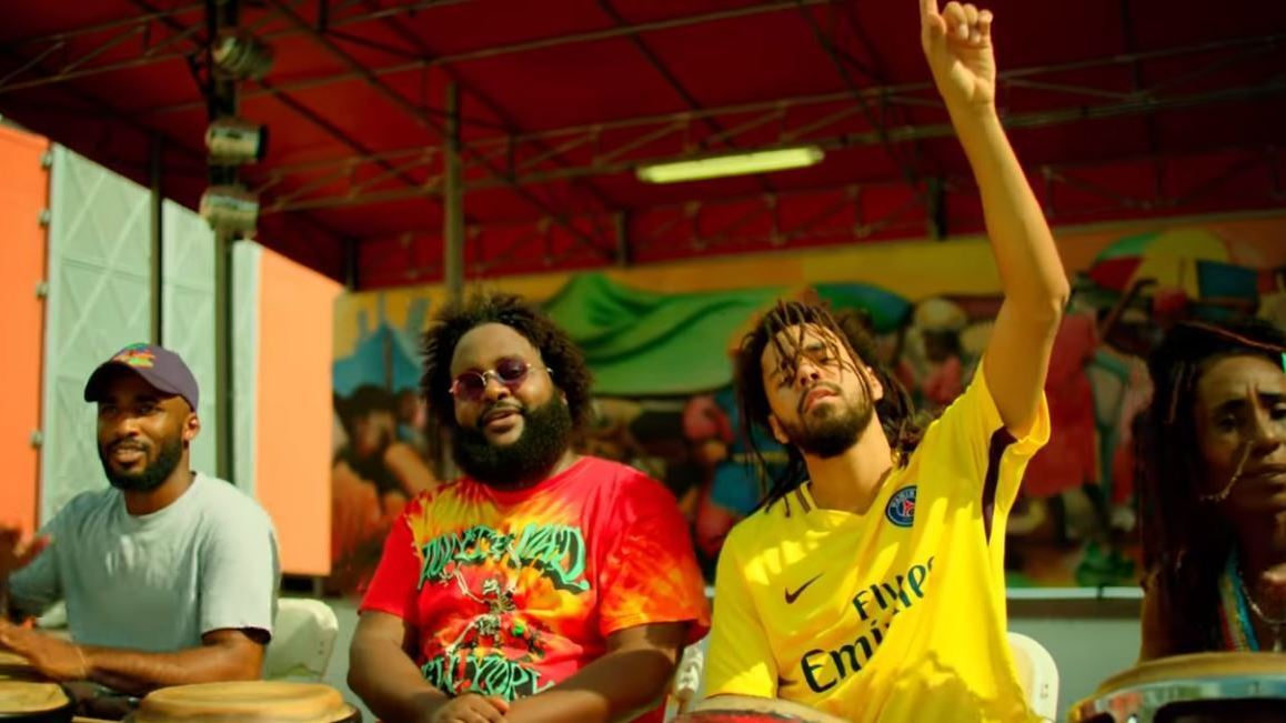 bas and j cole celebrate good fortune in tribe typica ティピカ