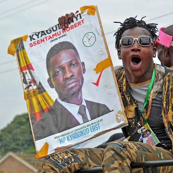 Femi Kuti, Brian Eno And 86 Others Sign Letter Supporting Ugandan Opposition Leader